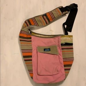 KAVU crossbody Canvas Bag Pink
